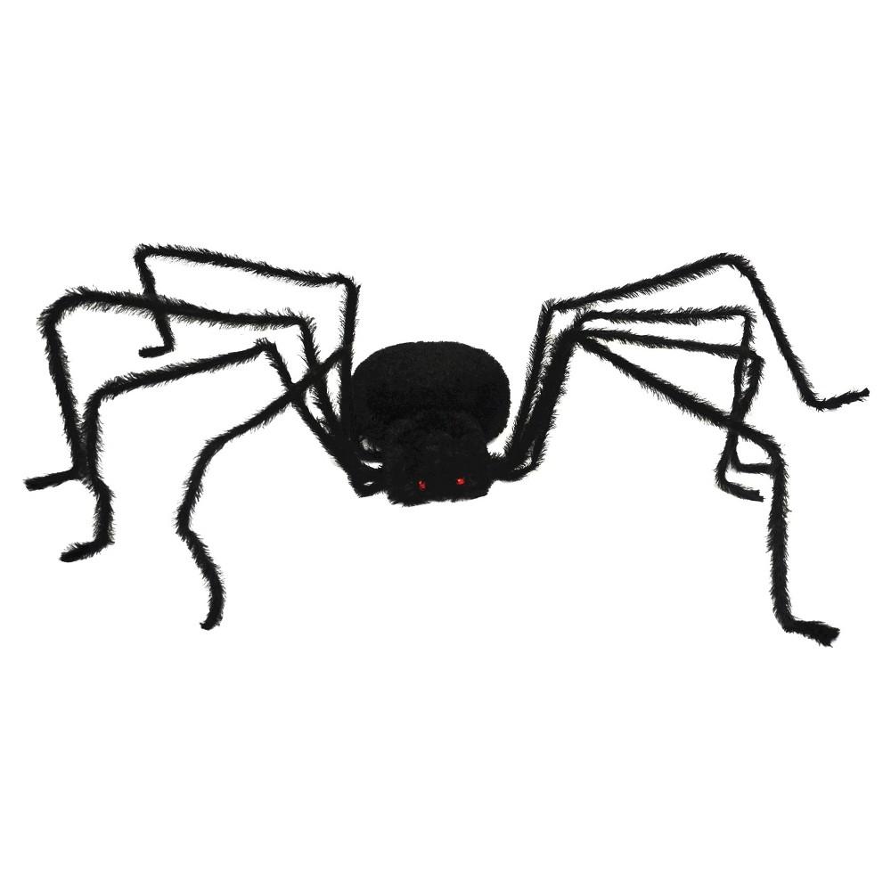 Halloween Giant Lightup Long Haired Spider