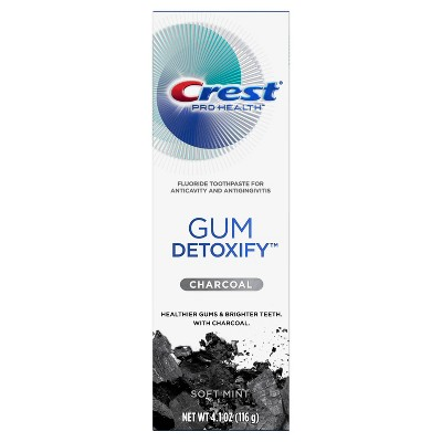Crest Pro-Health Gum Detoxify Toothpaste with Charcoal - 4.1oz