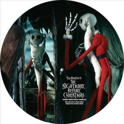 Soundtrack - The Nightmare Before Christmas (2 LP)(Picture Disc) (Vinyl)