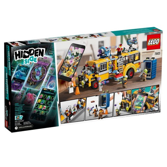 LEGO Hidden Side Paranormal Intercept Bus 3000 70423 Augmented Reality (AR) Building Kit 689pc image number null