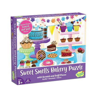 Mindware Sweet Smells Baker Scratch & Sniff Jigsaw Puzzle - 82pc