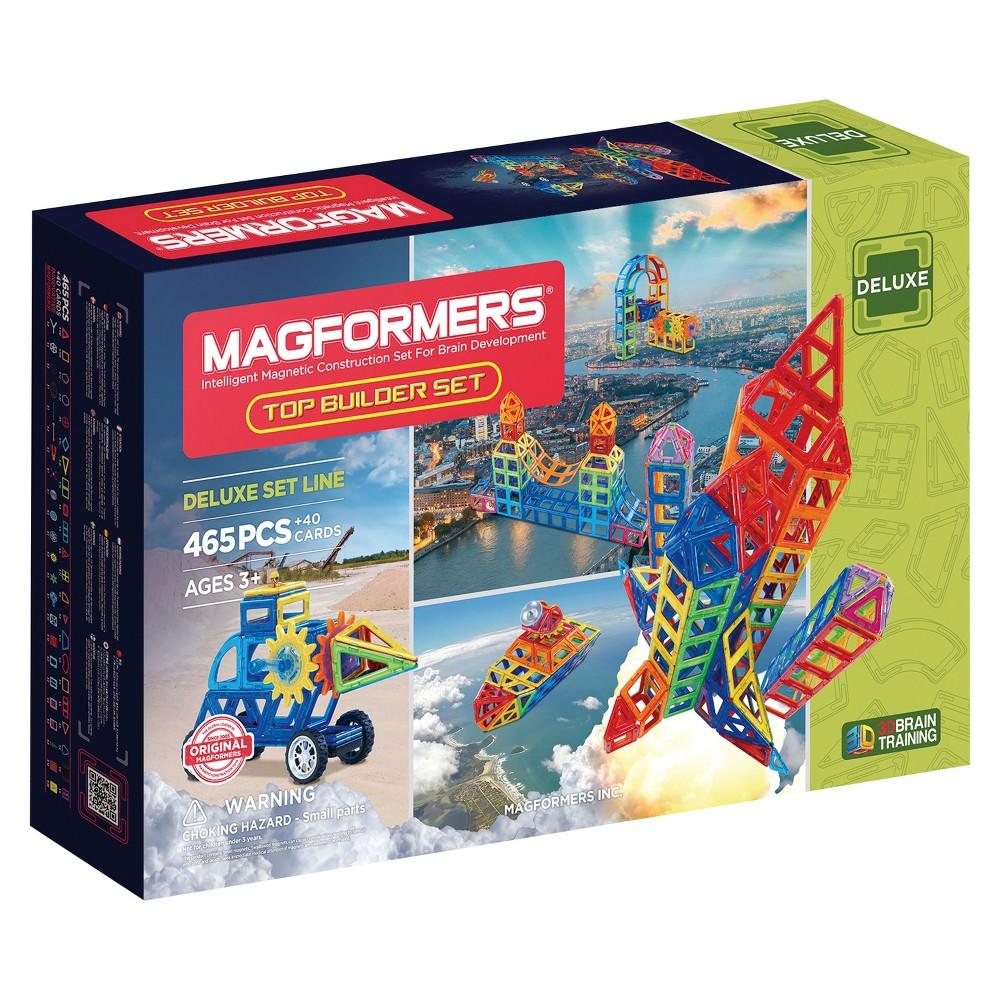 Magformers Top Builder Set - 465pc