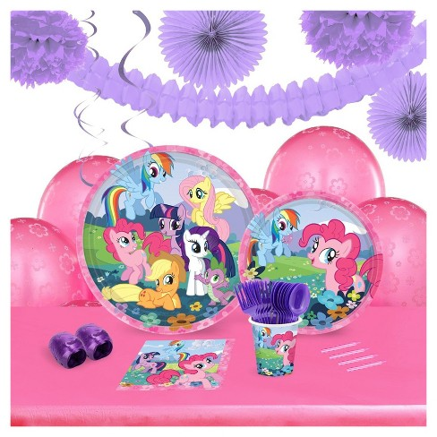 My Little Pony Friendship Magic 16 Guest Party Pk with Decoration Kit - image 1 of 1