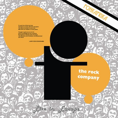 Ofo The Rock Company - Live In Europe:Fonk Afrika (Vinyl) - image 1 of 1