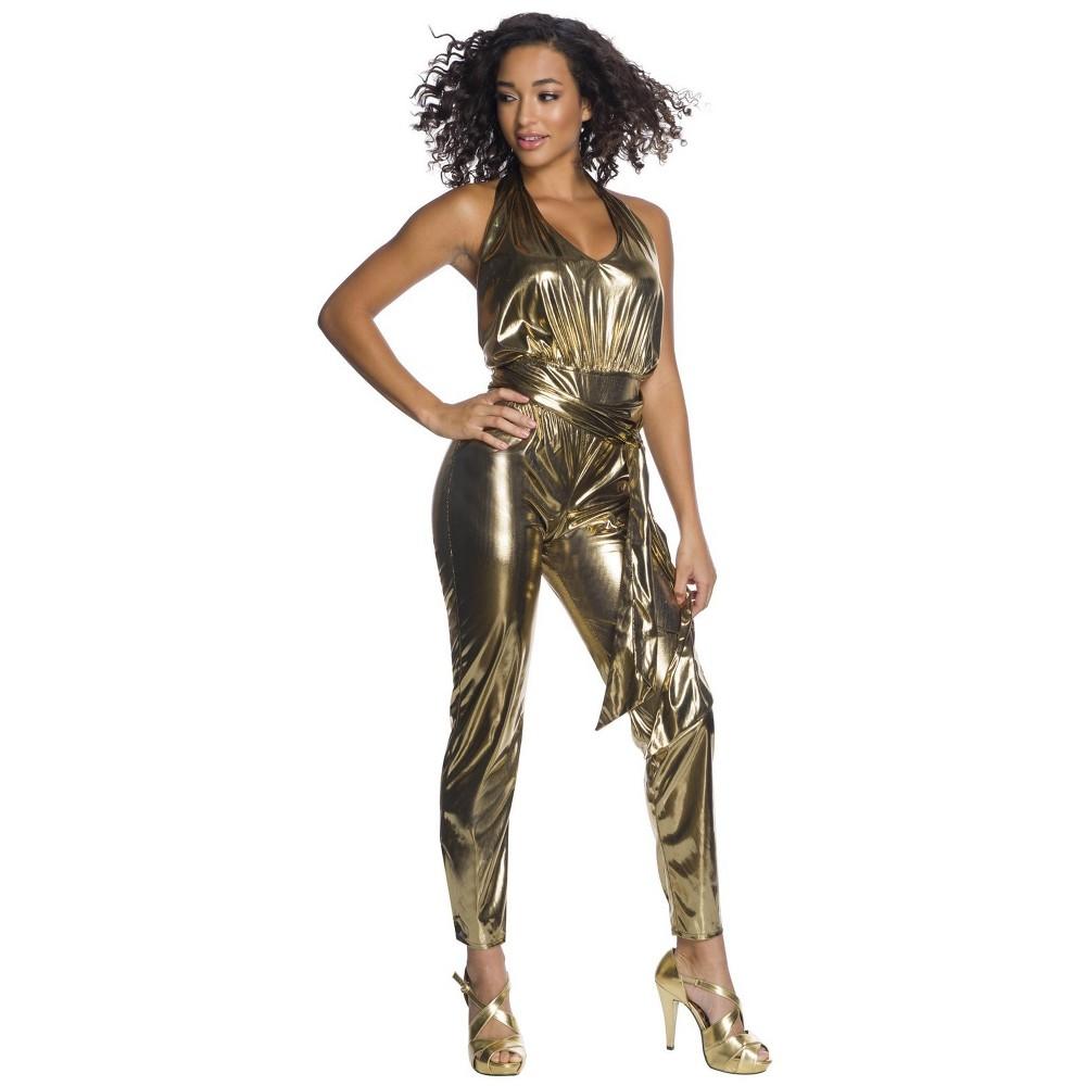 Image of Halloween Women's Disco Fever Queen Halloween Costume XL, MultiColored