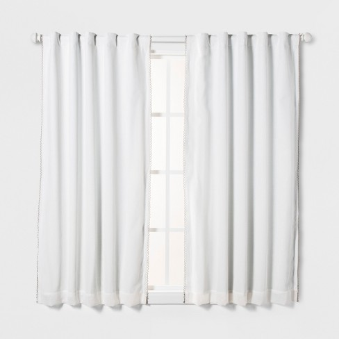 Loop Trim Blackout Window Curtain Panel - Pillowfort™ - image 1 of 3