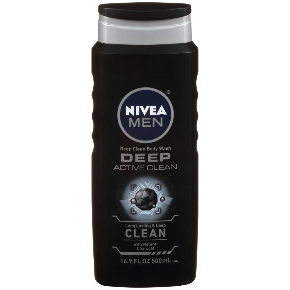 Image of NIVEA Men Active Clean Body Wash - 16.9oz