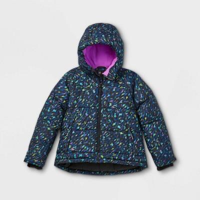 Girls' Short Puffer Jacket - All in Motion™