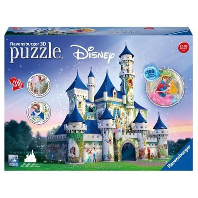 Ravensburger Disney Castle - 216pc 3D Puzzle