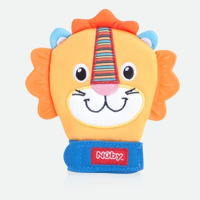Nuby Animal Teething Mitten - Lion