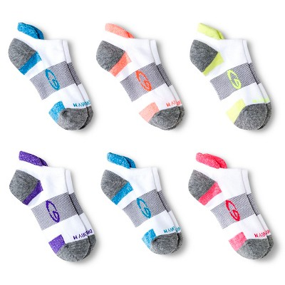 Girls 6pk Athletic Socks – C9 Champion White/Gray M – Target Inventory  Checker – BrickSeek