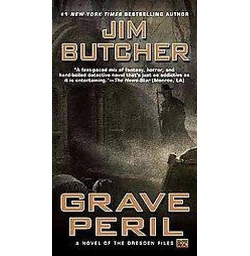 Grave Peril (Reprint) (Paperback) (Jim Butcher) - image 1 of 1
