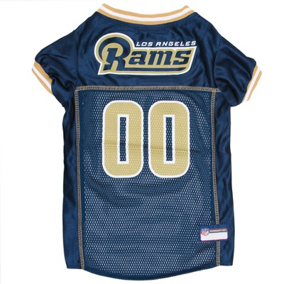 Los Angeles Rams Pets First Mesh Pet Football Jersey - Navy M