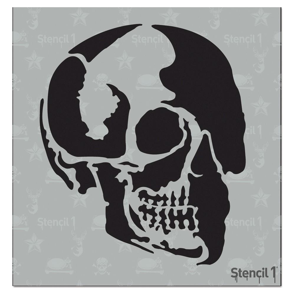 Stencil1 Skull Profile - Stencil 5.75