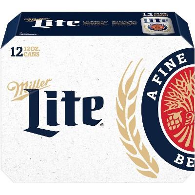 Miller Lite Beer - 12pk/12 fl oz Cans