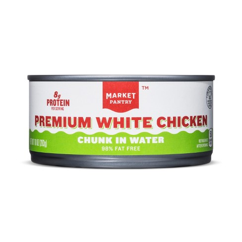 Chicken Breast Chunk White Meat - 10oz - Market Pantry™ - image 1 of 1