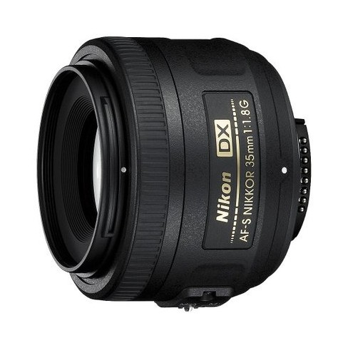 Nikon AF-S DX NIKKOR 35mm F1.8G -Black (2183) - image 1 of 3