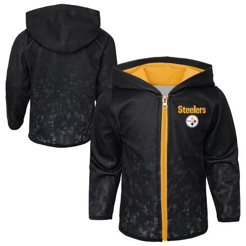 NFL Pittsburgh Steelers Toddler Cheer Loud Sublimated Full Zip Hoodie c76e97ff1