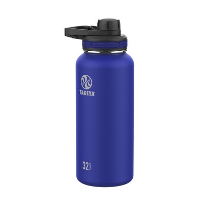 Takeya 32oz Outdoor Essential Insulated Stainless Steel Water Bottle with Spout Cap