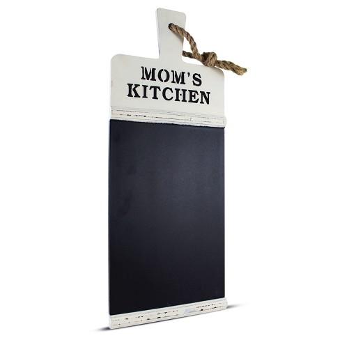 Mom\'s Kitchen Rustic Chalkboard Wall Message Board