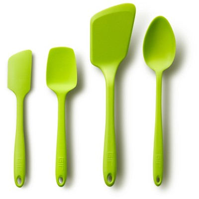 GIR Ultimate Silicone Kitchen Tool 4pc Set Lime