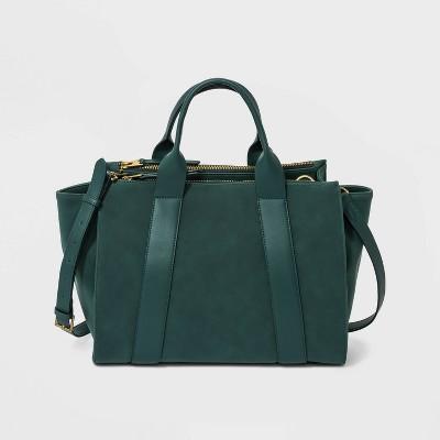 Satchel Handbag - Universal Thread™ Green