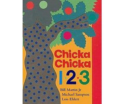 Chicka Chicka 1, 2, 3 (School And Library) (Bill Martin) - image 1 of 1