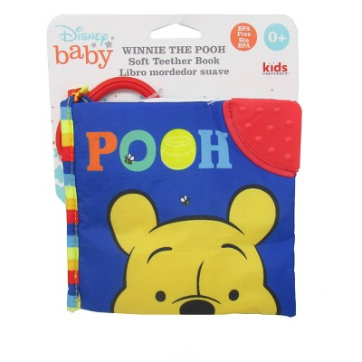 Disney Baby Pooh Soft Book Blue