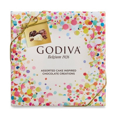 Godiva Assorted Cake Truffles 3.8oz