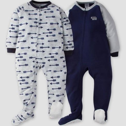 ad50bed64 Gerber® Toddler Boys' 2pk Arrows Micro Fleece... : Target