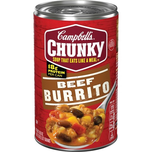 Campbell's® Chunky™ Beef Burrito Soup 18.6 oz - image 1 of 5
