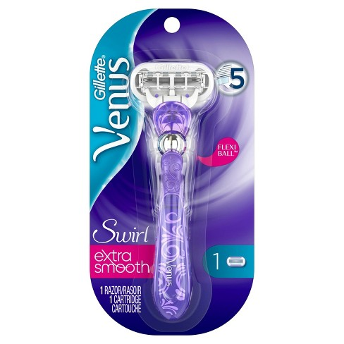 Venus Swirl Flexiball Women's Razor - 1 Handle + 1 Refill - image 1 of 7