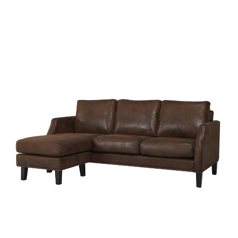 Amazing Austin Reversible Sofa Sectional Abbyson Gmtry Best Dining Table And Chair Ideas Images Gmtryco