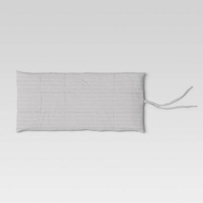 Twin Decorative Print Throw Bed Gray Dash - Opalhouse™