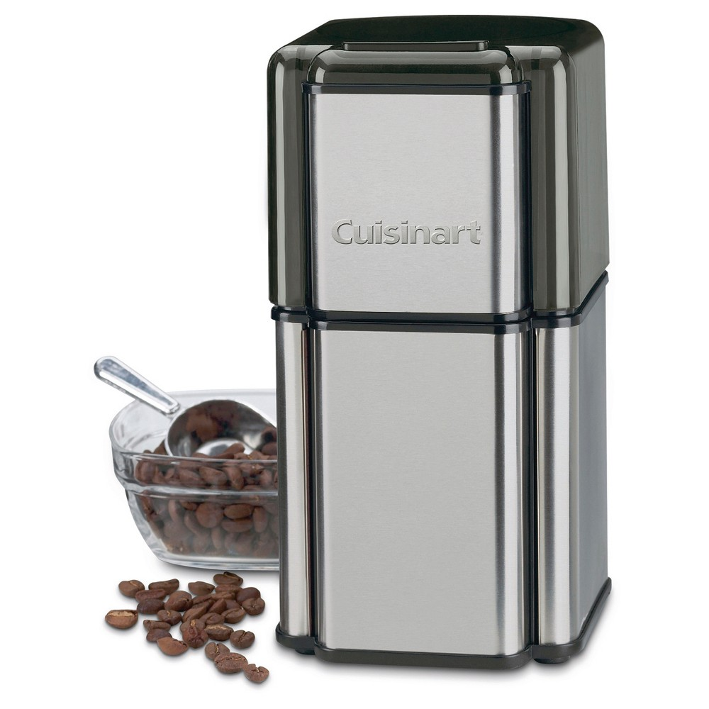 Image of Cuisinart Grind Central Coffee Grinder - Brushed Chrome DCG-12BC