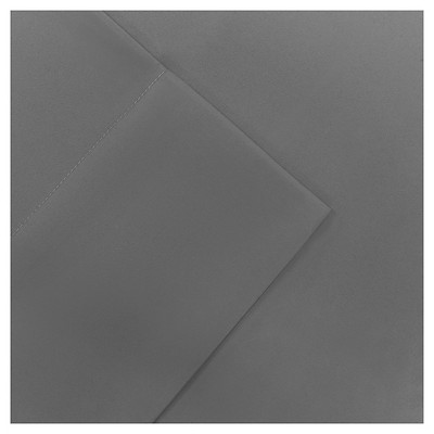 Full Micro Splendor Ultra Soft Wrinkle Free Microfiber Sheet Set Gray