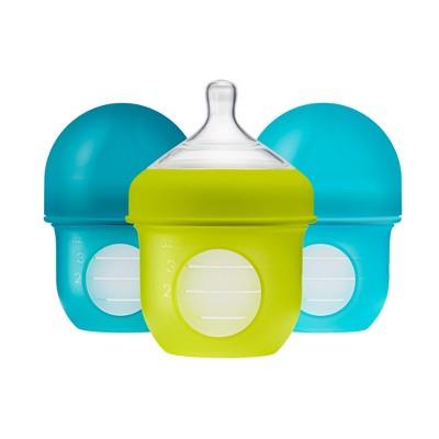 Boon NURSH 4oz Bottle - Blue 3pk
