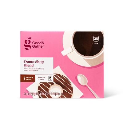 Donut Shop Medium Roast - 48ct Single Serve Pods - Good & Gather™
