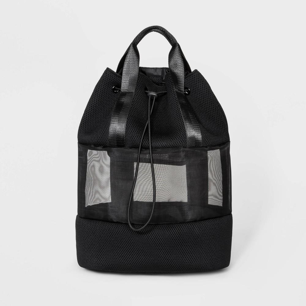 Image of Drawstring Backpack - Shade & Shore Black
