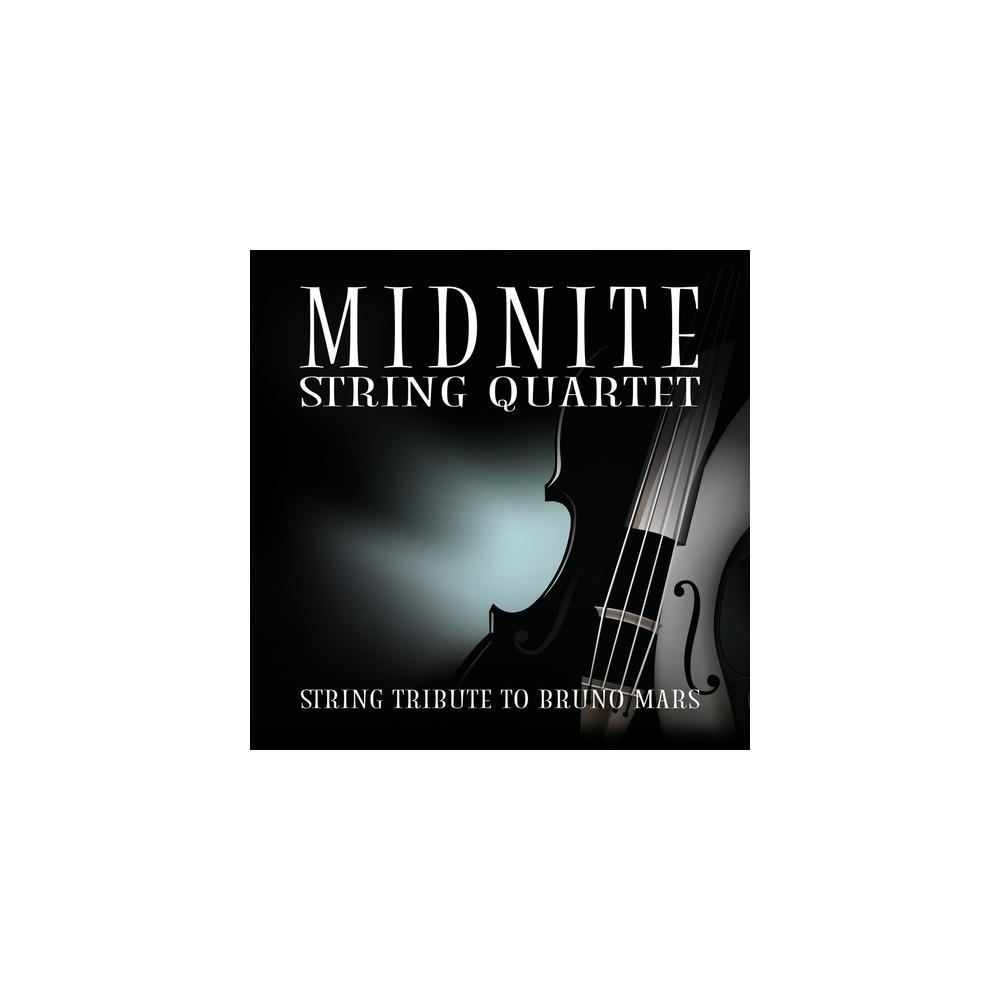 Midnite String Quartet - Performs Bruno Mars (CD)
