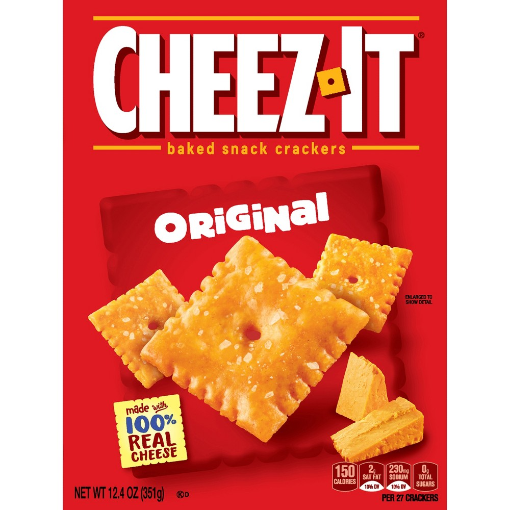 Cheez-It Original Baked Snack Crackers - 12.4oz
