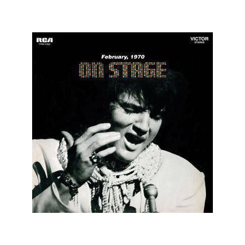 Elvis Presley - On Stage: February 1970 (Vinyl) - image 1 of 1