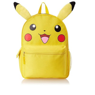 Accessory Innovations Company Pokemon Pikachu 3D 16 Inch Backpack