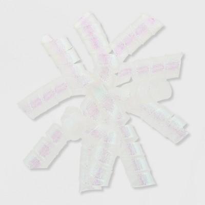 Iridescent Fabric Swirl White - Spritz™