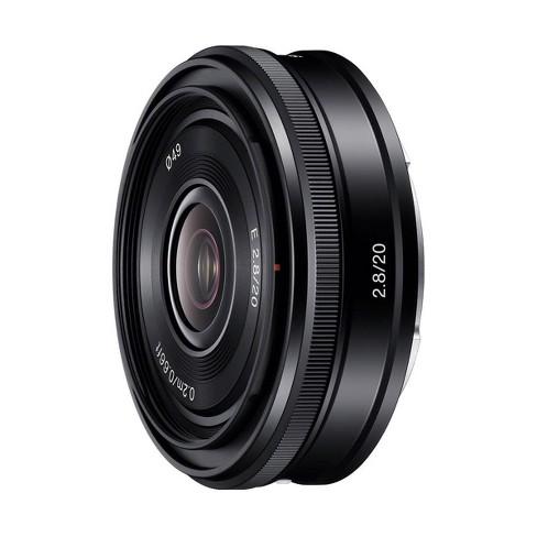 Sony E 20mm F2.8 E-Mount Lens, Black - image 1 of 4