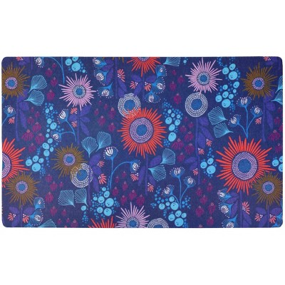 Drymate Dog and Cat Feeding Placemat - Reef Blue