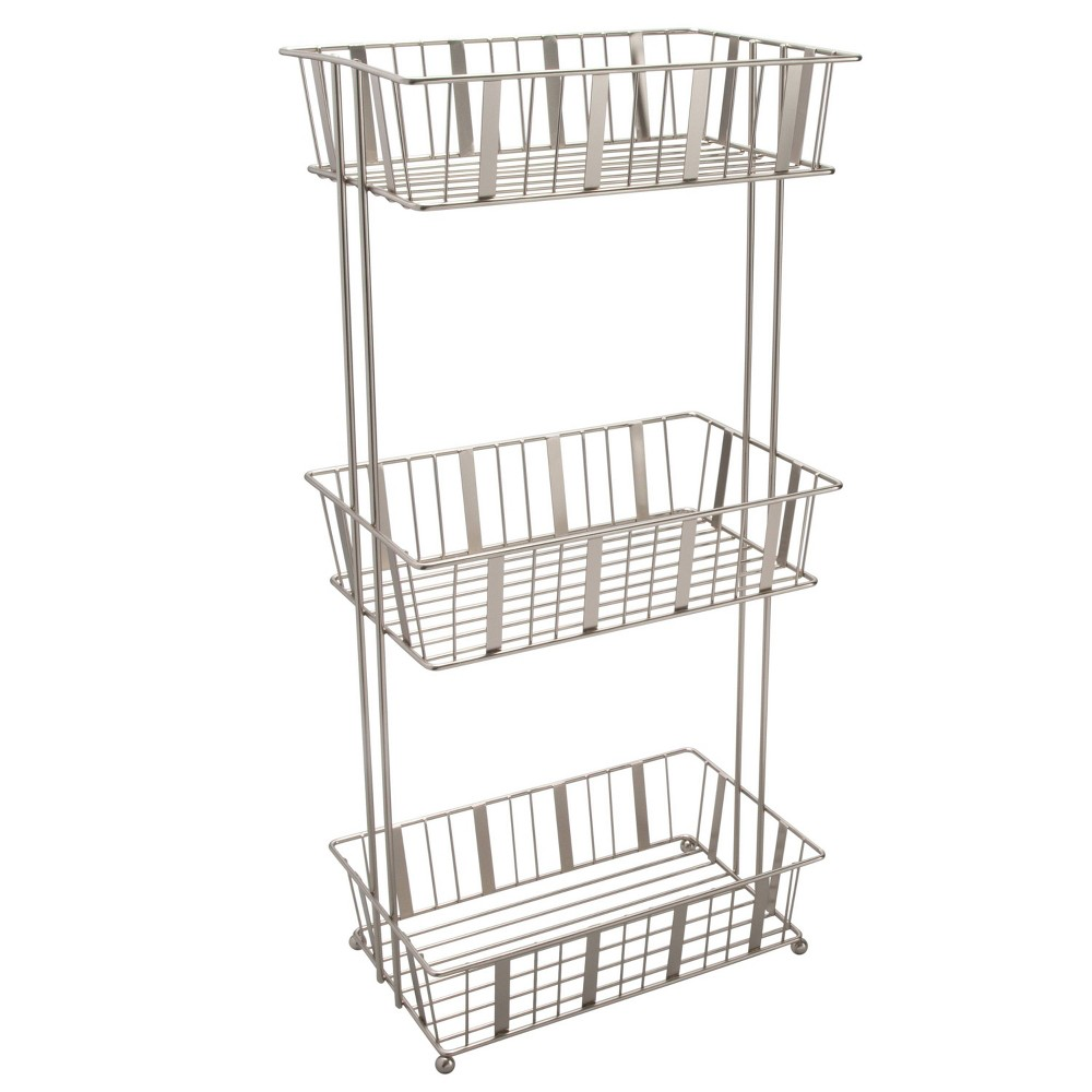 Image of 3-Tier Aristo Spa Tower Silver - Laura Ashley