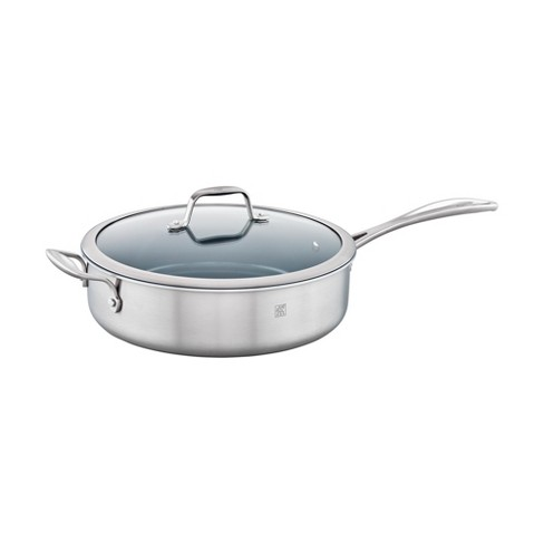 ZWILLING Spirit 3-ply Stainless Steel Ceramic Nonstick Saute Pan - image 1 of 3