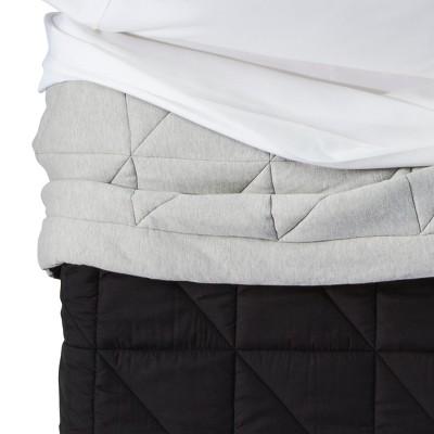 Toddler Jersey Comforter Gray - Pillowfort™