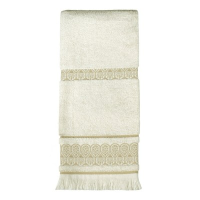 """Saturday Knight Ltd Elephant Walk High Quality Stylish Easily Fit & Durable Everyday Use Hand Towel 16x25"""" - Natural"""